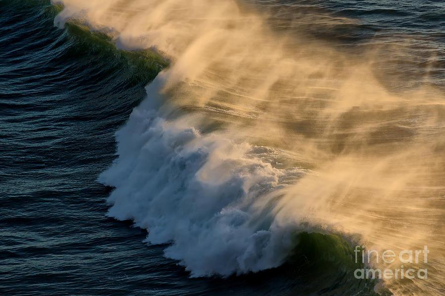 Ocean Photograph - Breaker by Jon Burch Photography