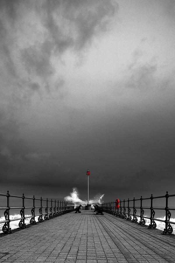Sea Photograph - Breaker by Kris Dutson