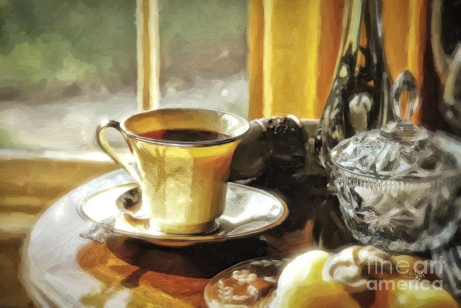 Breakfast Photograph - Breakfast Is Ready by Lois Bryan