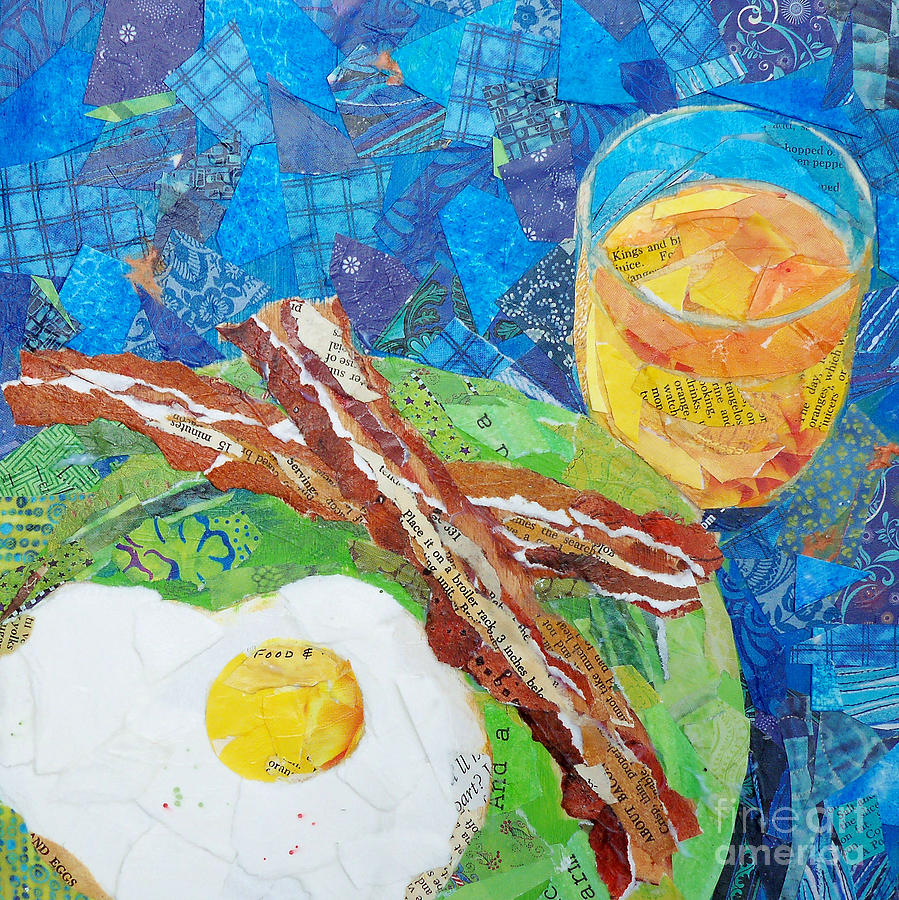 Breakfast Painting - Breakfast Is Ready by Patricia Henderson
