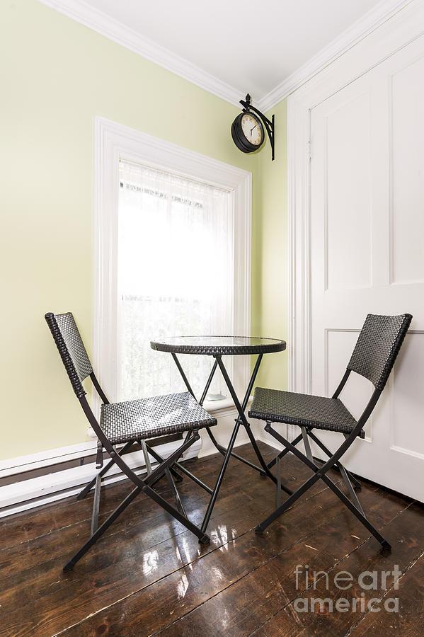 Furniture Photograph - Breakfast Nook In Rustic House by Elena Elisseeva
