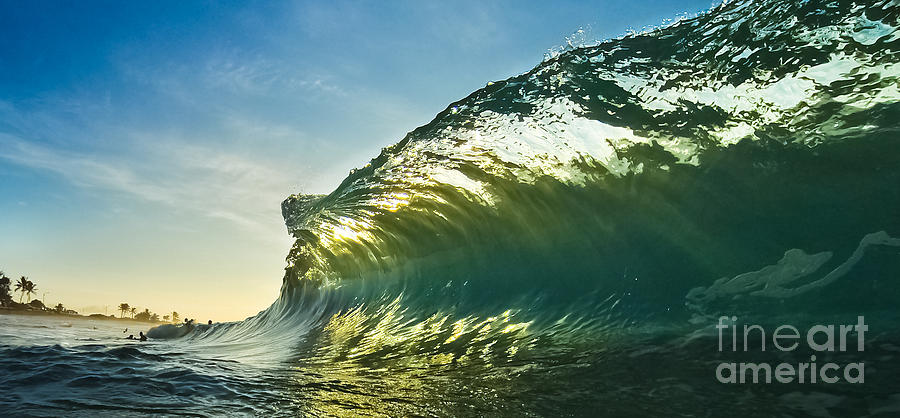 Wave Photograph - Breakfast by Payton Boyd