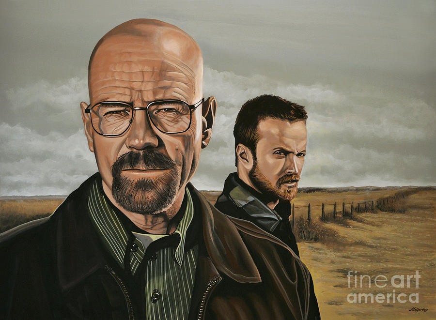 Breaking Bad Painting - Breaking Bad by Paul Meijering