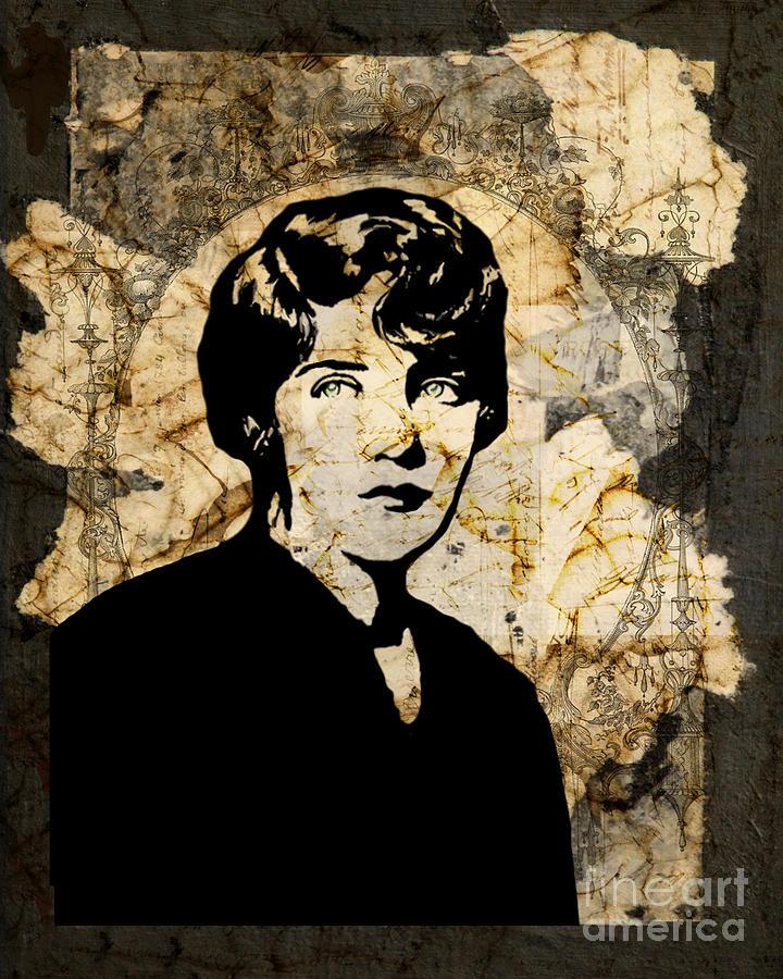 Woman Digital Art - Breaking Up by Judy Wood