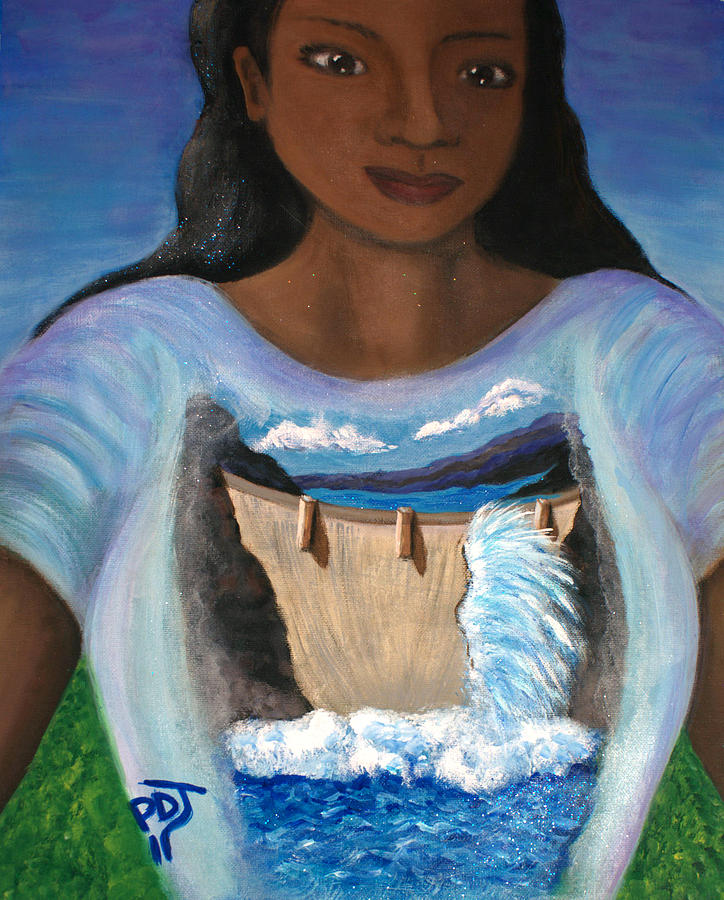 Breakthrough Painting - Breakthrough-burst Forth by Pamorama Jones