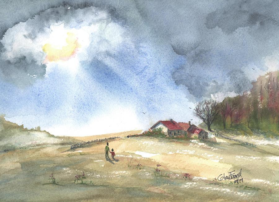 Breakthrough Painting - Breakthrough End Of Season by Glenn Farrell