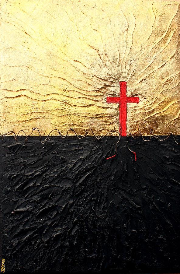 Breakthrough  Painting by Sandra Yegiazaryan