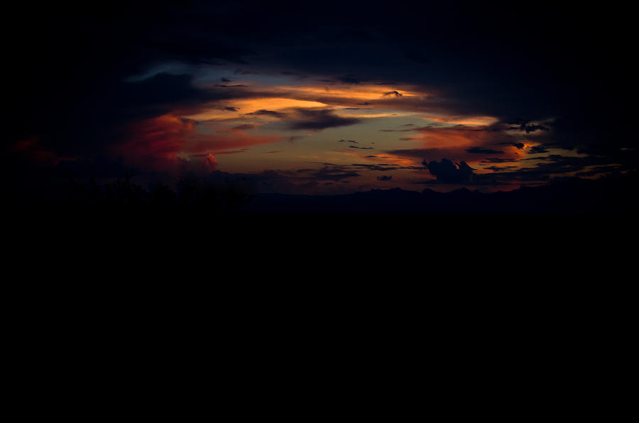 Sunset Photograph - Breakthrough by Swift Family