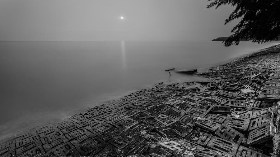 Breakwater Photograph - Breakwater by Mario Legaspi