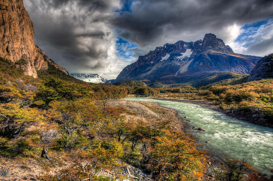 Argentina Photograph - Breath Of Cold by Roman St
