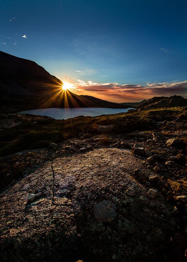 Nature Photograph - Breathless Sunrise II by Steven Reed