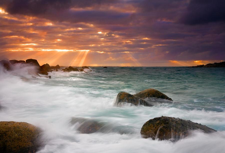 Dawn Photograph - Breathtaking by Mike  Dawson