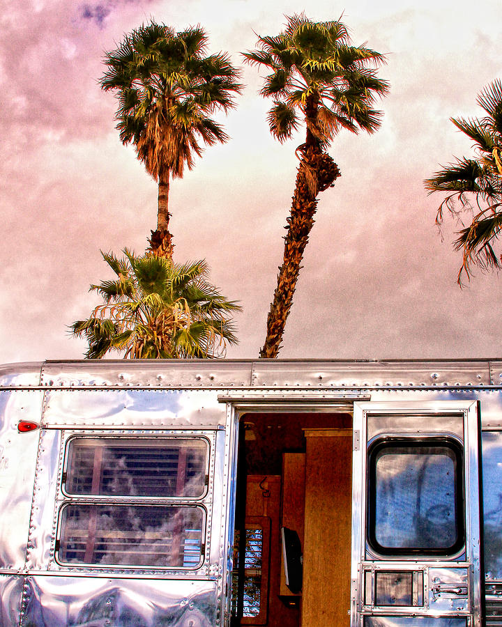 Airstream Photograph - Breezy Palm Springs by William Dey