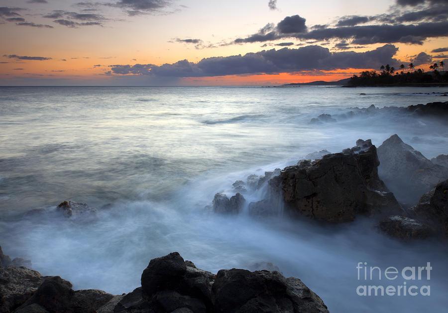 Kauai Photograph - Brennecke Boil by Mike  Dawson