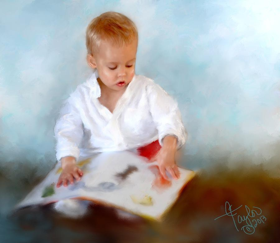 Children Painting - Brenners Books by Colleen Taylor