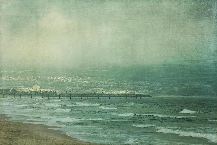 Manhattan Beach Photograph - Brewing Storm by Kim Hojnacki