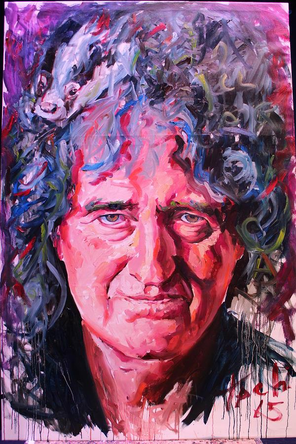 Brian May by Tachi Pintor