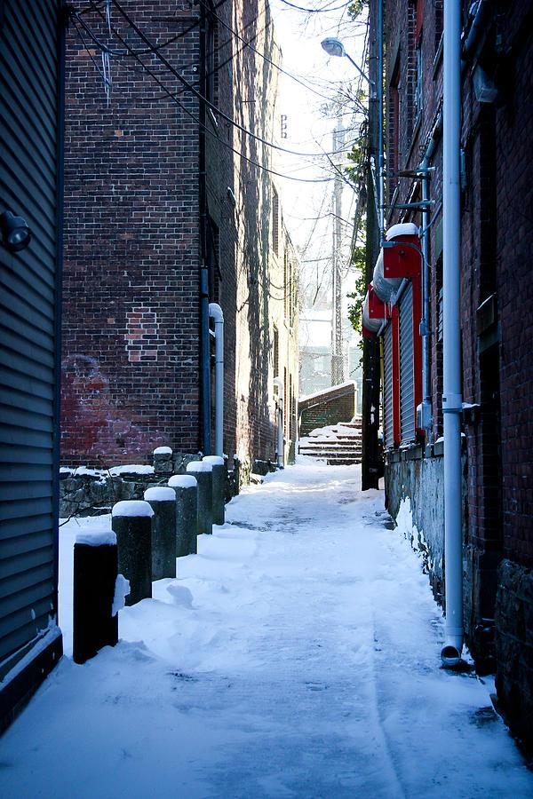 Brick Photograph - Brick Alley by Allan Millora