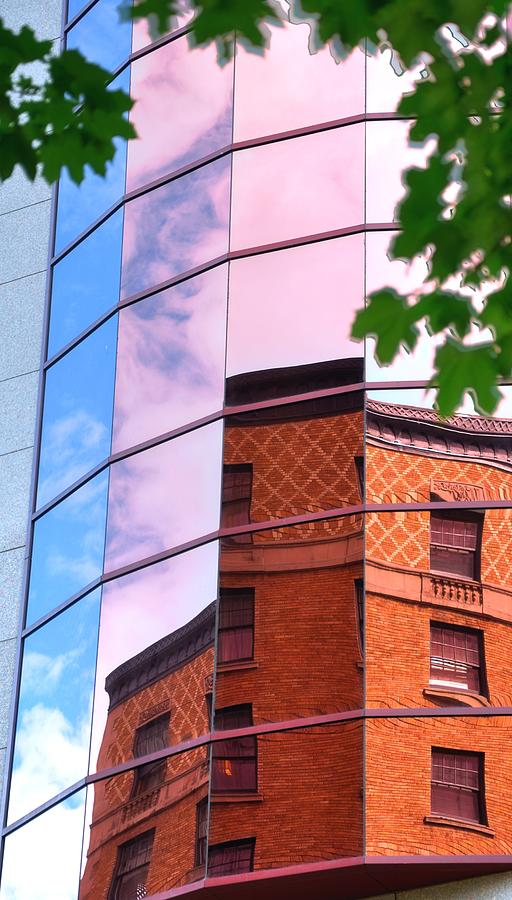 Brick And Glass 17371 Photograph