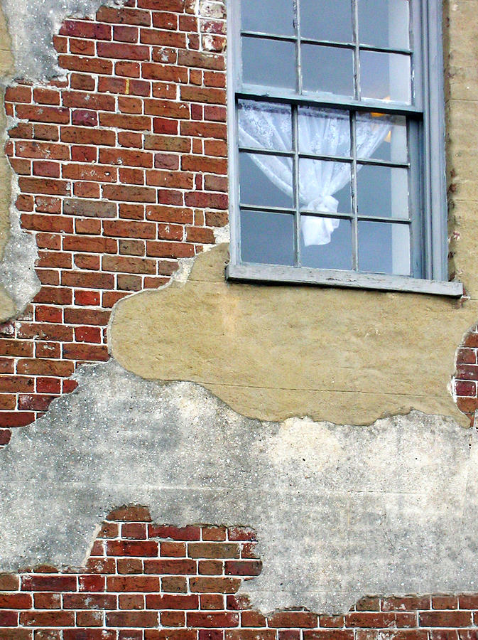 Brick Photograph - Brick And Mortar by Sarah-jane Laubscher