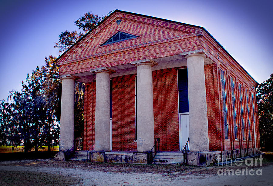 History Photograph - Brick Church by Nelson Watkins