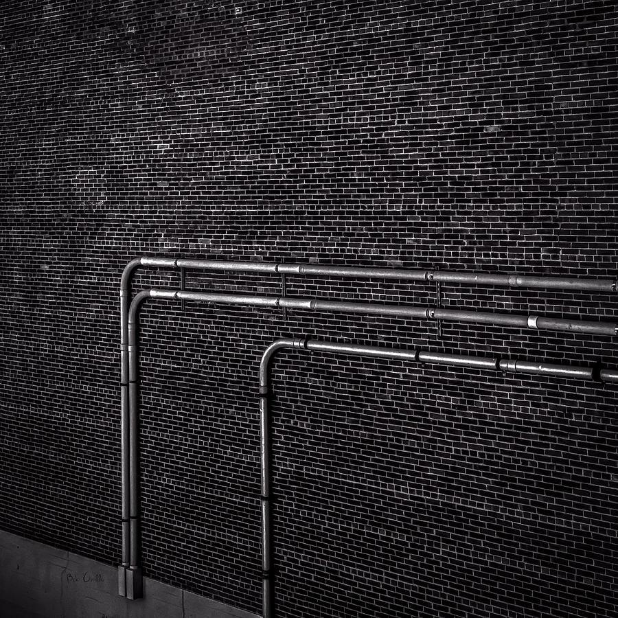 Wall Photograph - Brick Wall by Bob Orsillo