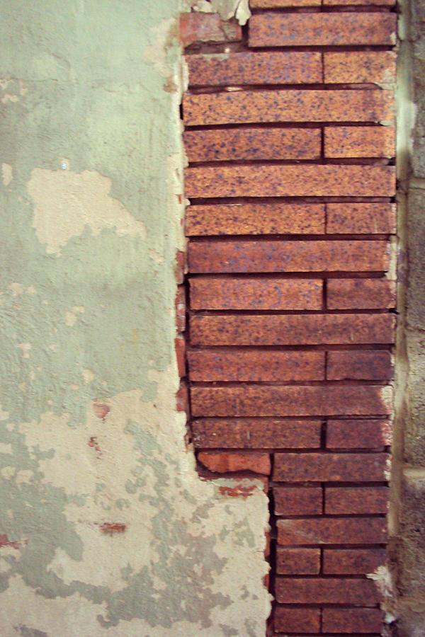 Brick Photograph - Brick Wall by Cynthia Harvey
