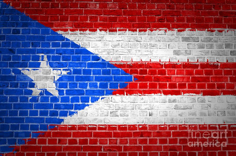 Brick Wall Art brick wall puerto rico digital artantony mcaulay
