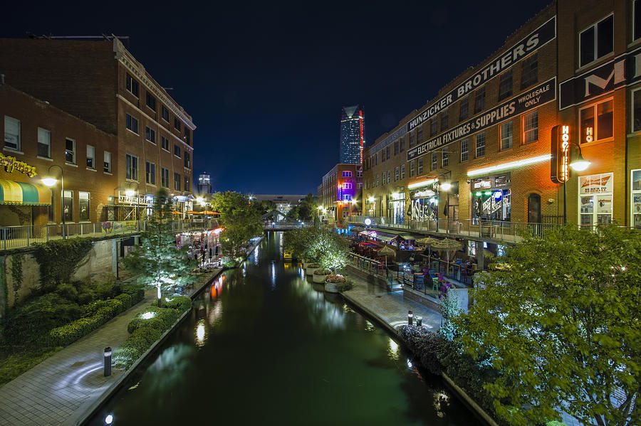 Bricktown Canal Photograph