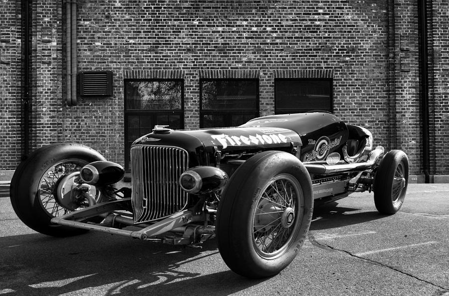 Buick Photograph - Brickyard Buick by Peter Chilelli