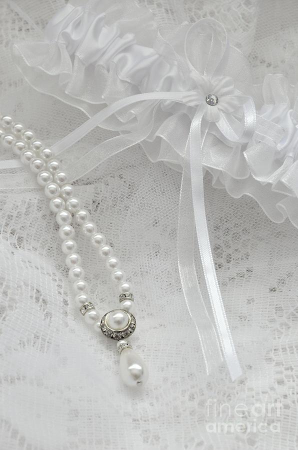 Bride Photograph - Bridal Accessories by Birgit Tyrrell