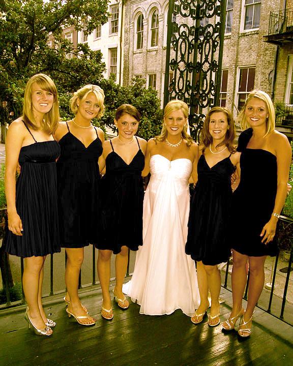 Bride Photograph - Bridal Party by Brett Kurtz