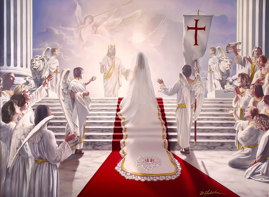 Christian Painting - Bride Of Christ by Danny Hahlbohm