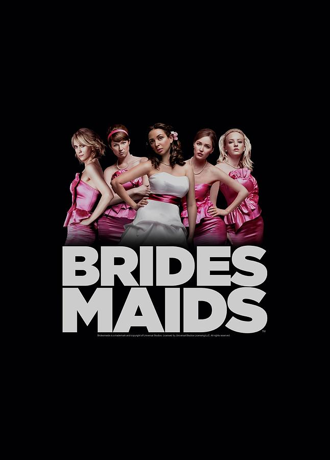 Bridesmaids Digital Art - Bridesmaids - Maids by Brand A