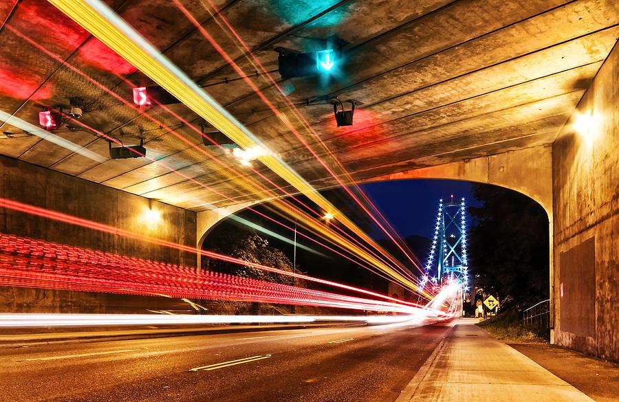 Bridge Photograph - Bridge And Tunnel by Alexis Birkill