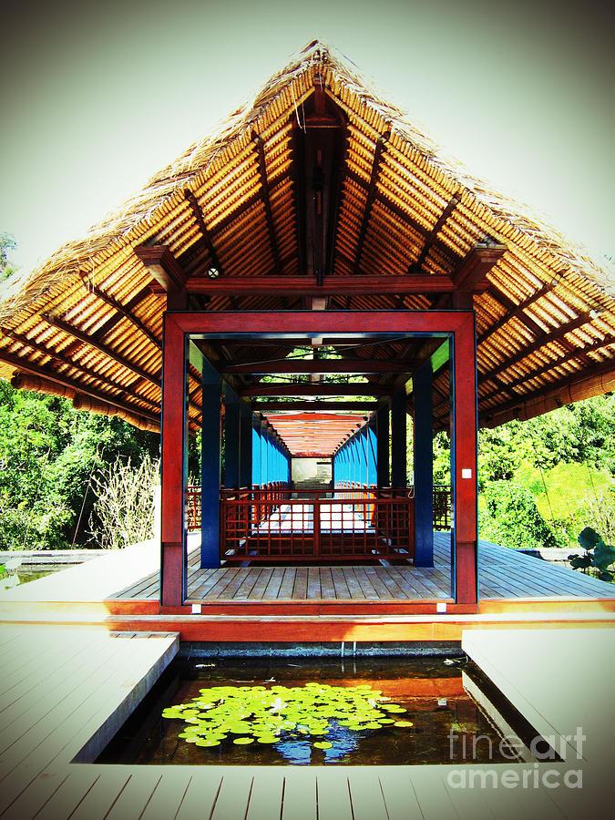 Bridge at Ubud by Marguerita Tan