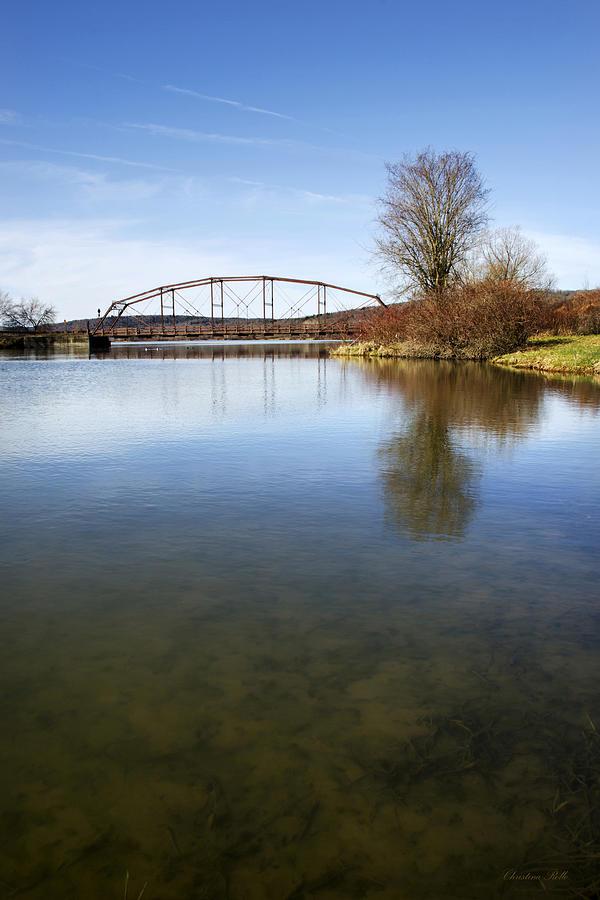 Bridge Photograph - Bridge At Upper Lisle by Christina Rollo