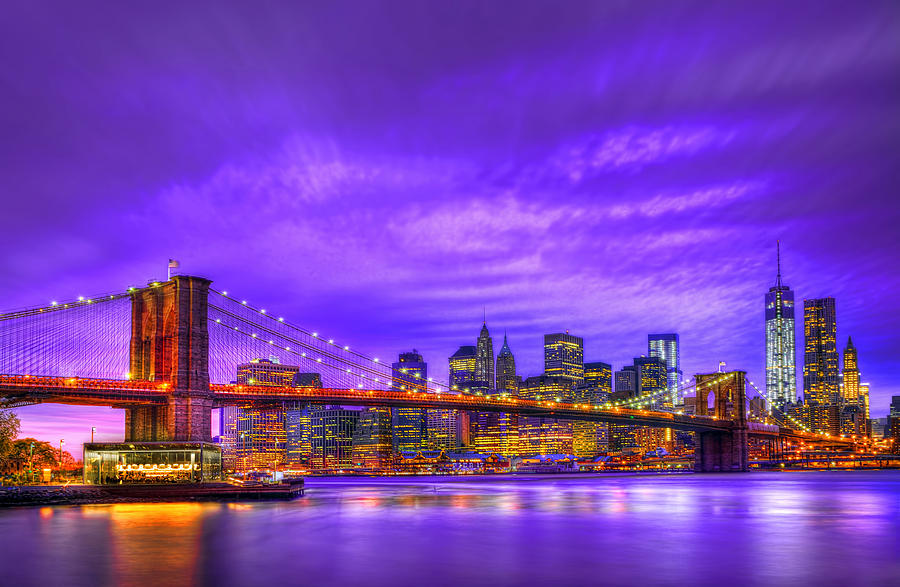 New York Photograph - Bridge Of  Dream by Midori Chan