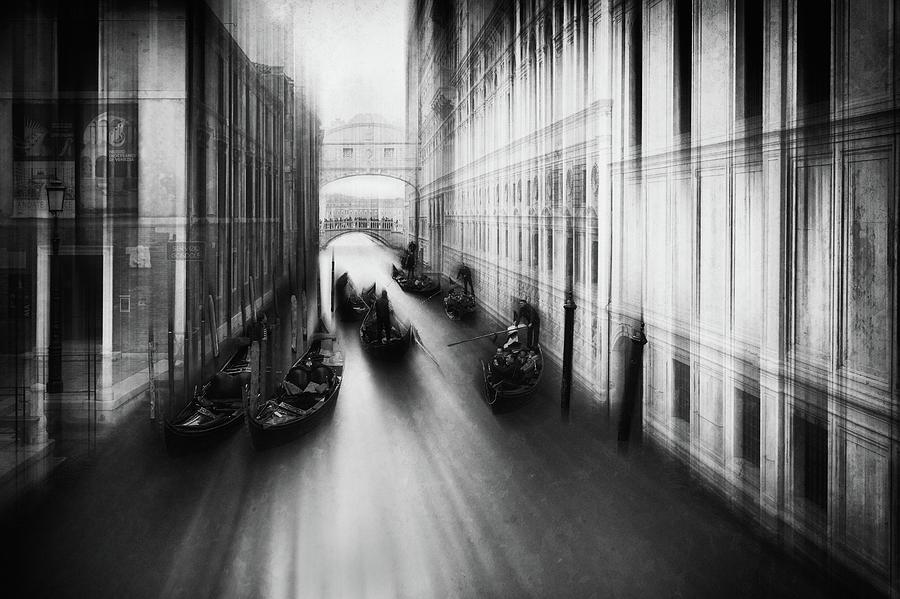 Venice Photograph - Bridge Of Sighs by Roswitha Schleicher-schwarz
