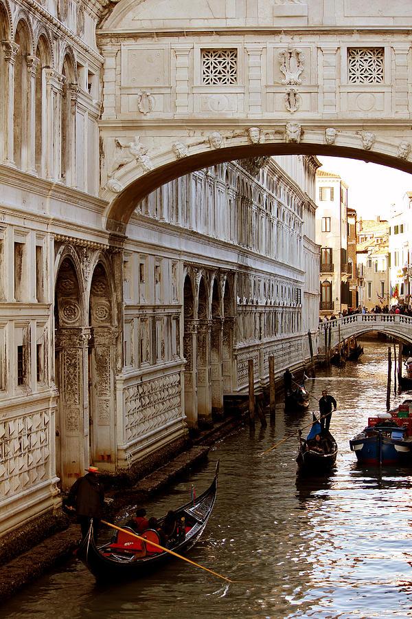Bridge Of Sighs Photograph - Bridge Of Sighs Venice by Cedric Darrigrand