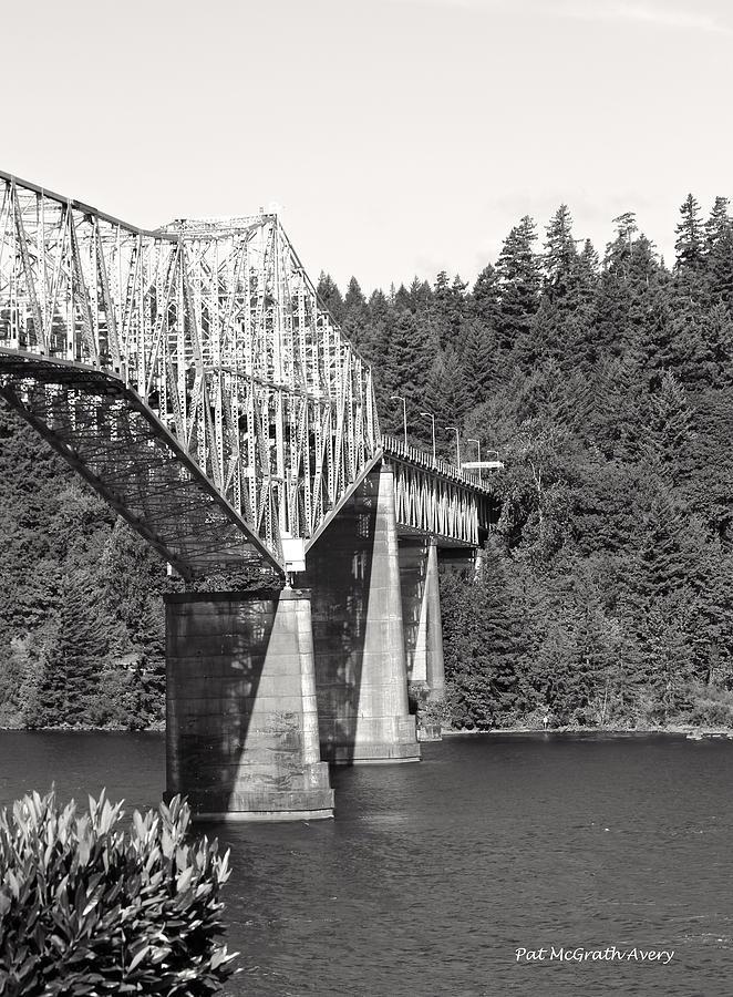 Oregon Photograph - Bridge Of The Gods by Pat McGrath Avery