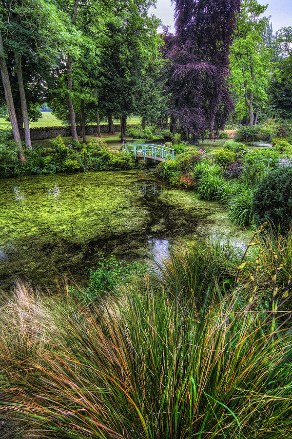Pond Photograph - Bridge Over The Pond by Ian Mitchell