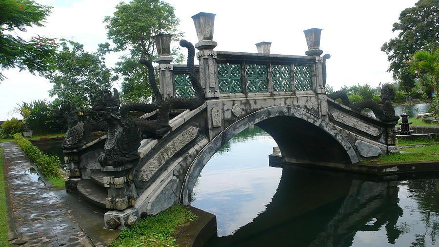Bali Photograph - bridge side Bali by Jack Edson Adams