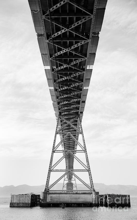 Astoria Photograph - Bridge Span by Charmian Vistaunet