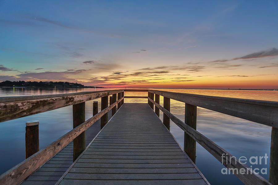 Landscape Photograph - Bridge to Heaven by Mina Isaac