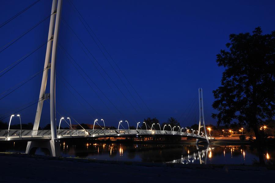 Bridge Photograph - Bridge To Higher Education by Gene Sherrill