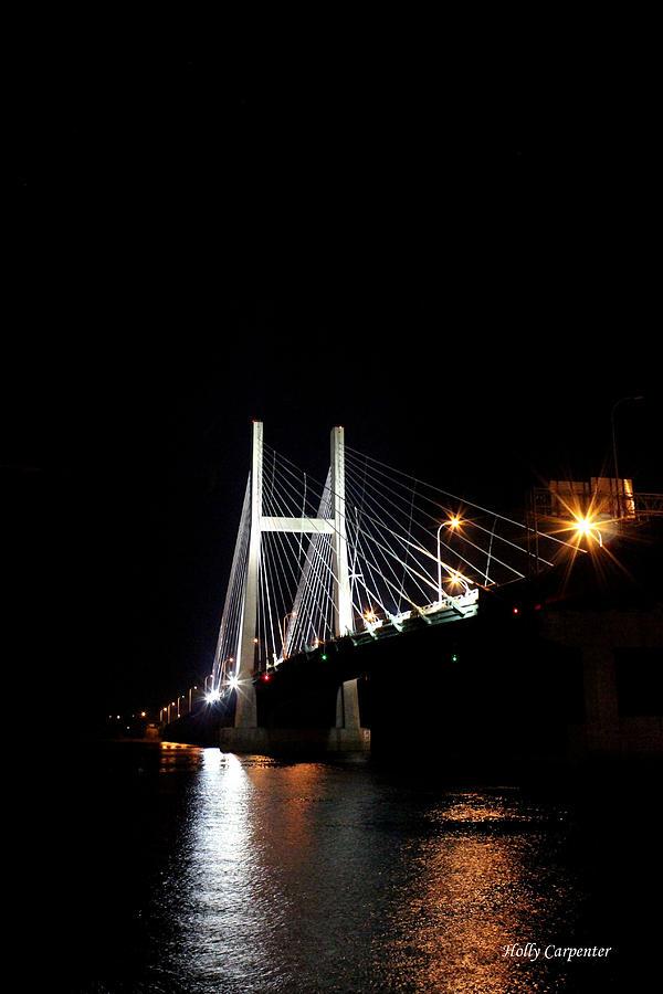Bridge Photograph - Bridge to Illinois by Holly Carpenter