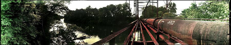 River Photograph - Bridge To La La Land by Erica Springer