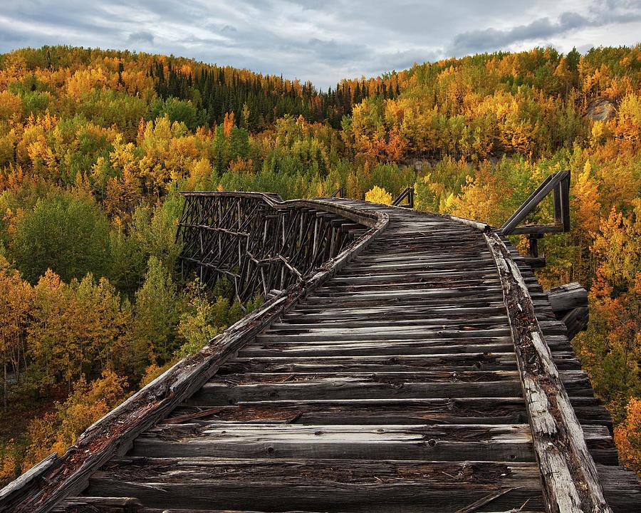 Decay Photograph - Bridge To Nowhere... by Doug Roane