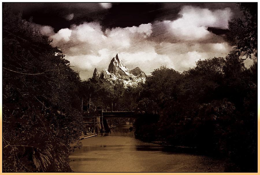 Bridge To The Himalayas Photograph